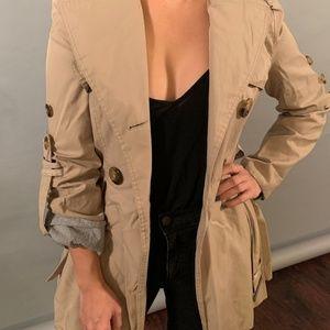 Miss Sixty Khaki Tan Trench Coat